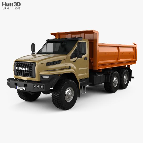 Ural Next Tipper Truck 2016 Modelo 3D