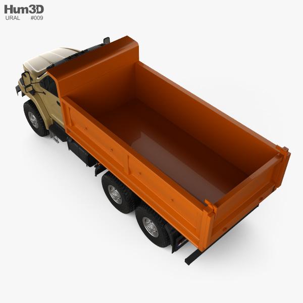 Ural Next Tipper Truck 2016 3D model
