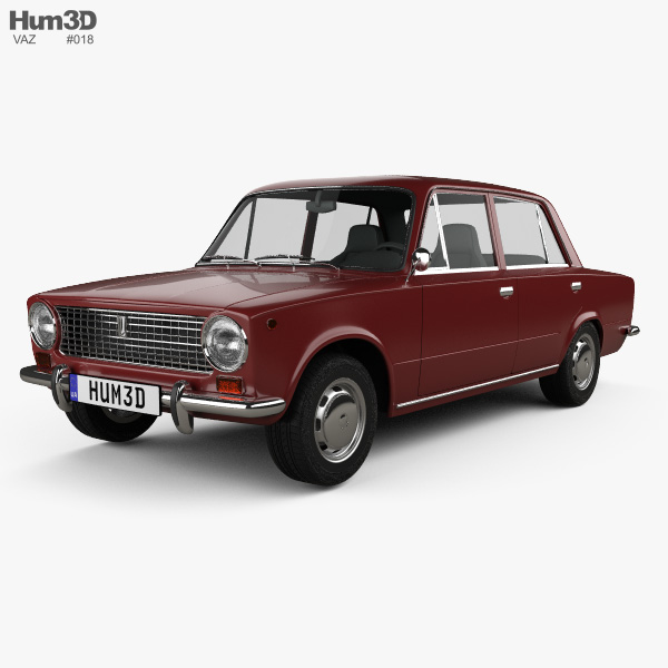 VAZ Lada 2101 1970 3D model