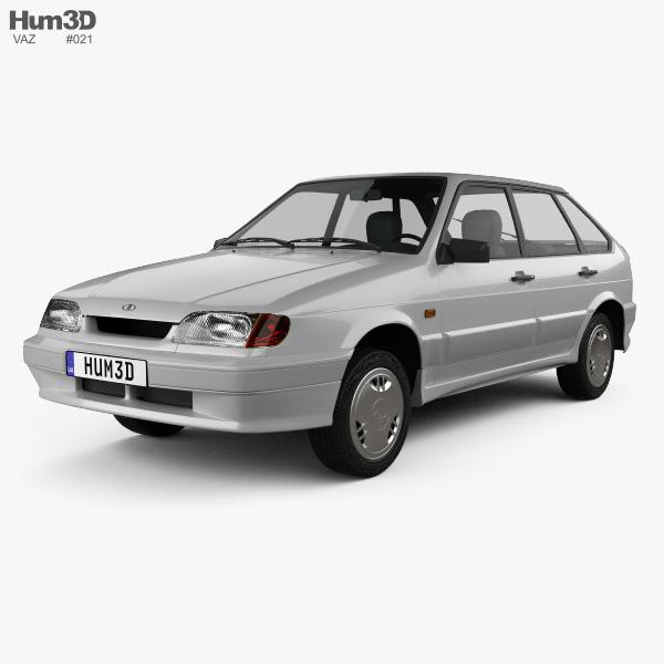 VAZ Lada Samara (2114) hatchback 5-door 1997 3D model