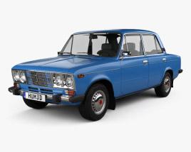 3D model of VAZ Lada 2106 1976