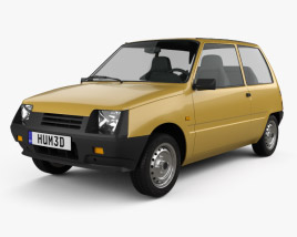 3D model of Lada Oka 1111 1989