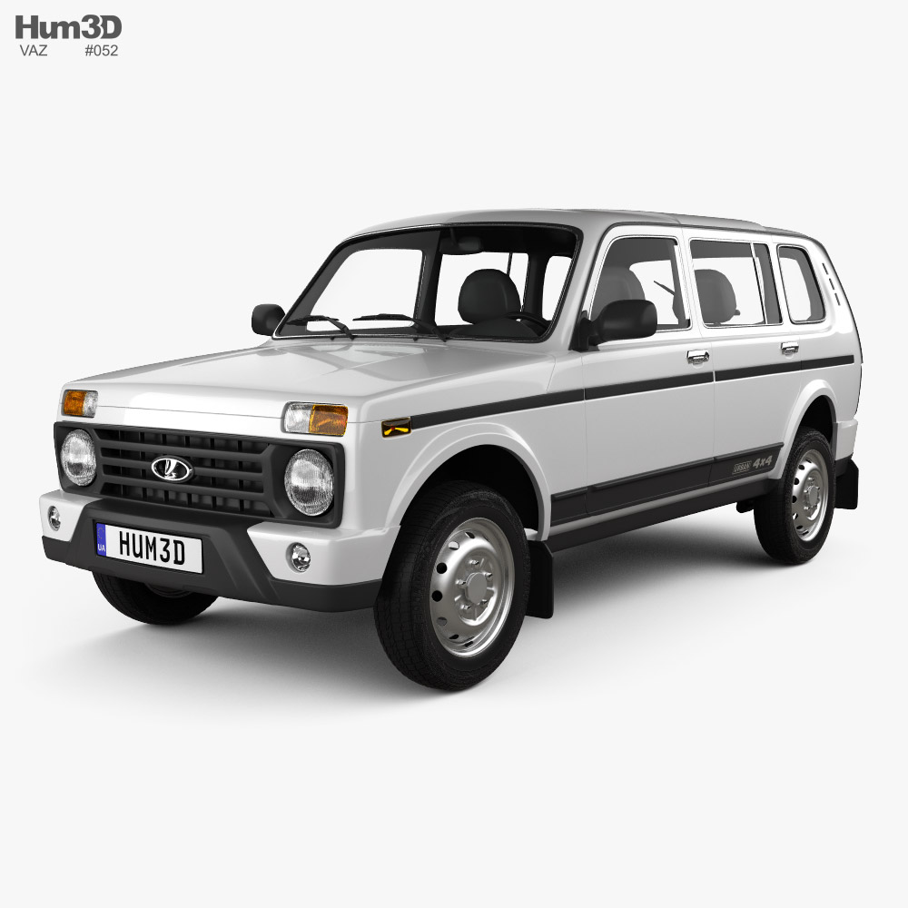 VAZ Lada Niva 4x4 (2131) Urban 2020 3D model
