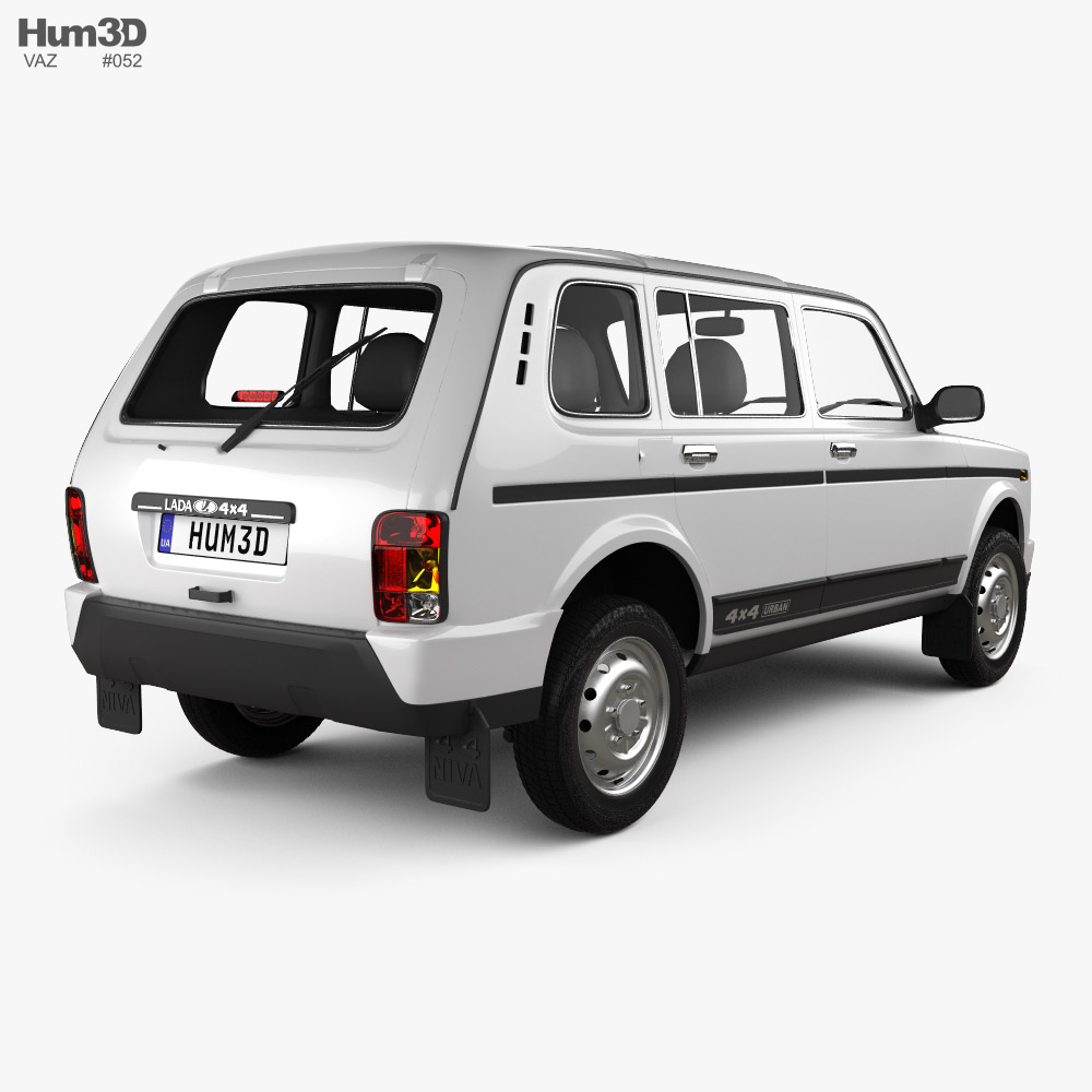 VAZ Lada Niva 4x4 (2131) Urban 2020 3d model back view