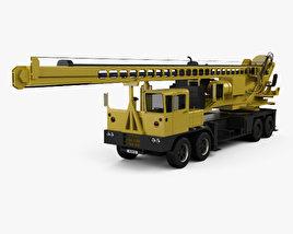 3D model of VDC Drill Rig Truck 2014