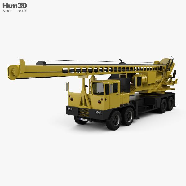 VDC Drill Rig Truck 2014 3D model
