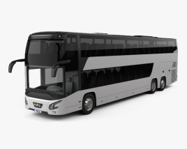 3D model of VDL Futura FDD2 Bus 2015