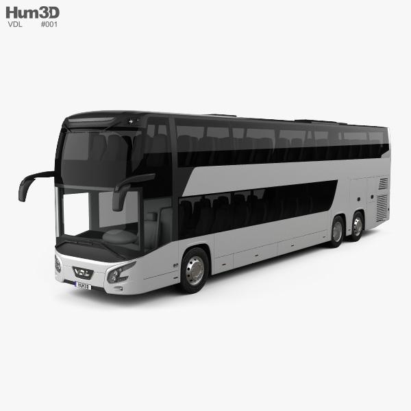 VDL Futura FDD2 Bus 2015 3D model