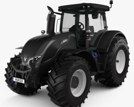 3D model of Valtra Serie S Tractor 2019
