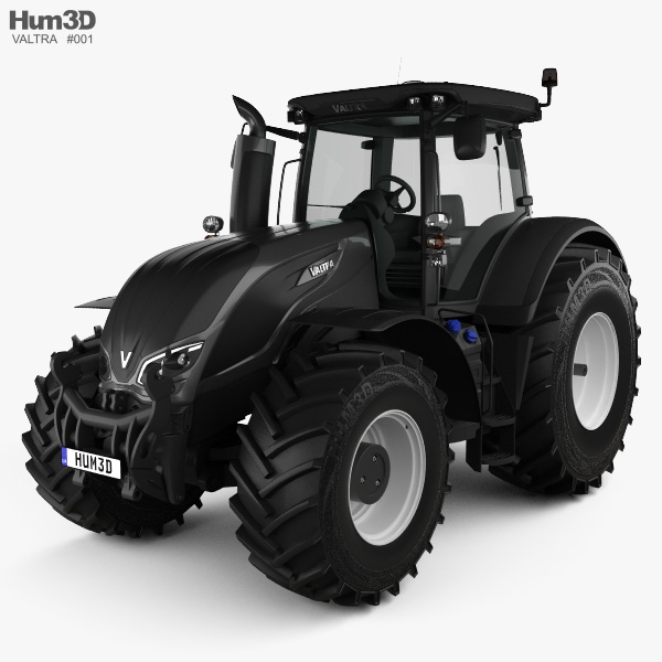 Valtra Serie S Tractor 2019 3D model