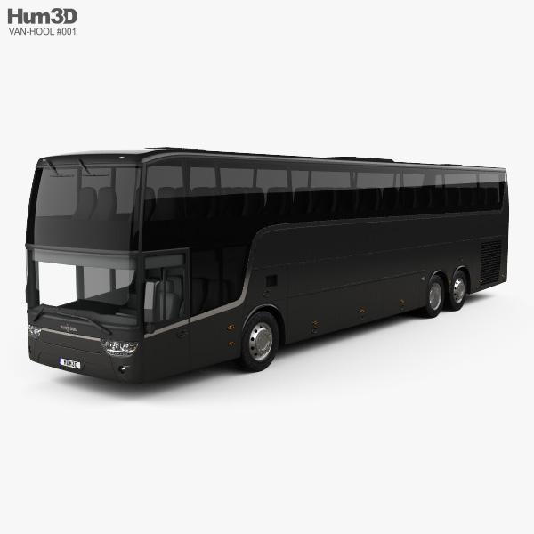 3D model of Van Hool Altano TDX21 2015