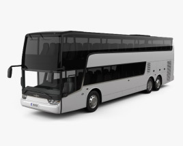 3D model of Van Hool TDX Bus 2018