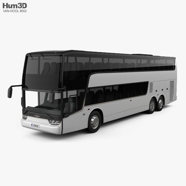 Van Hool TDX Bus 2018 3D model