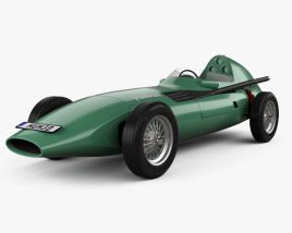 3D model of Vanwall VW 57 1957