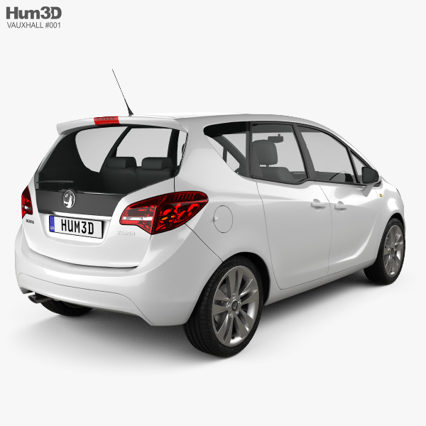 Vauxhall Meriva 2011 3D model