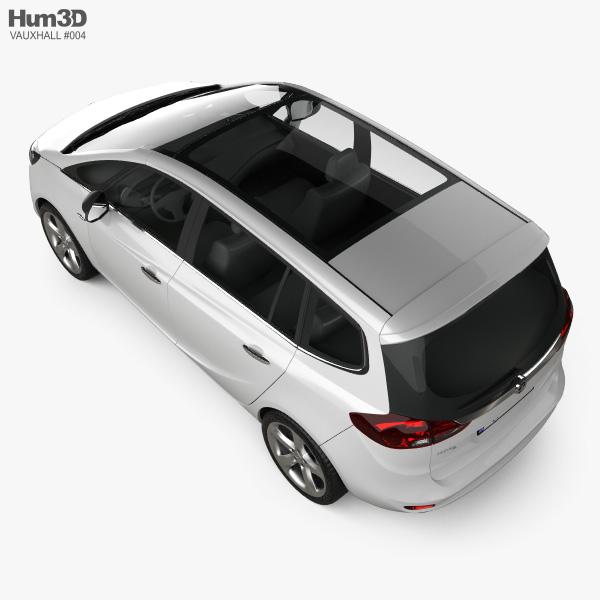 Vauxhall Zafira Tourer 2012 3D model
