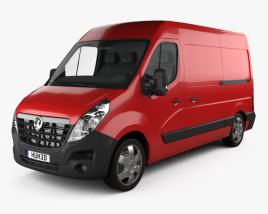 Vauxhall Movano Panel Van 2010 3D model
