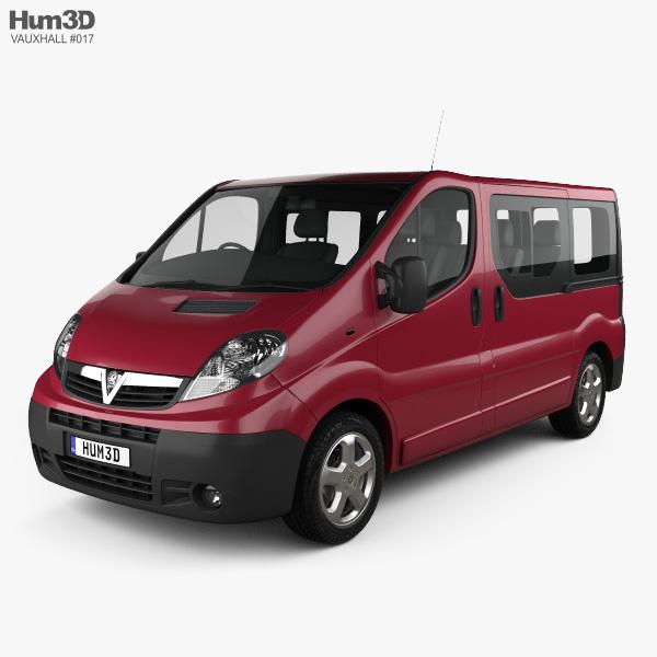 Vauxhall Vivaro Passenger Van 2006 3D model
