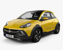 3D model of Vauxhall Adam Rocks 2014