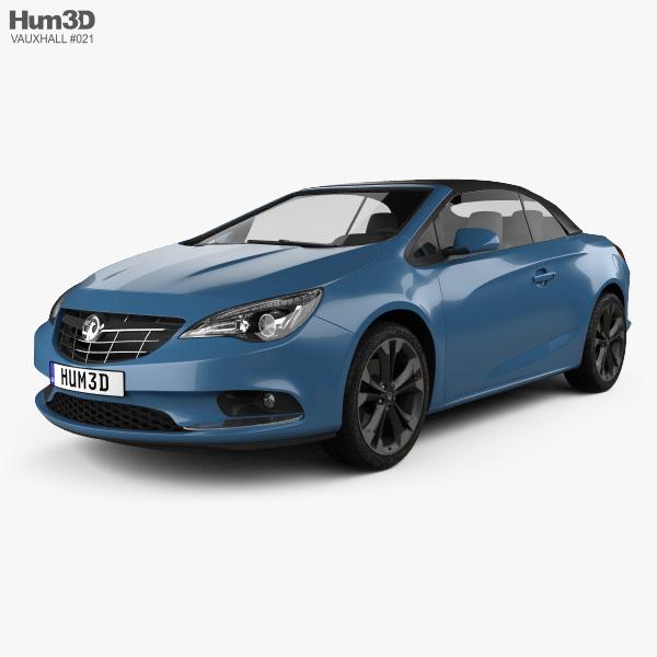 Vauxhall Cascada 2013 3D model