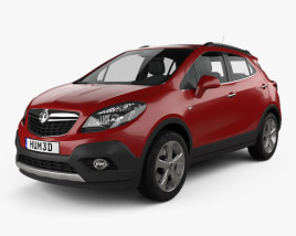 3D model of Vauxhall Mokka 2013