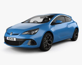 Vauxhall Astra VXR 2012 3D model