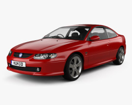 3D model of Vauxhall Monaro 2005
