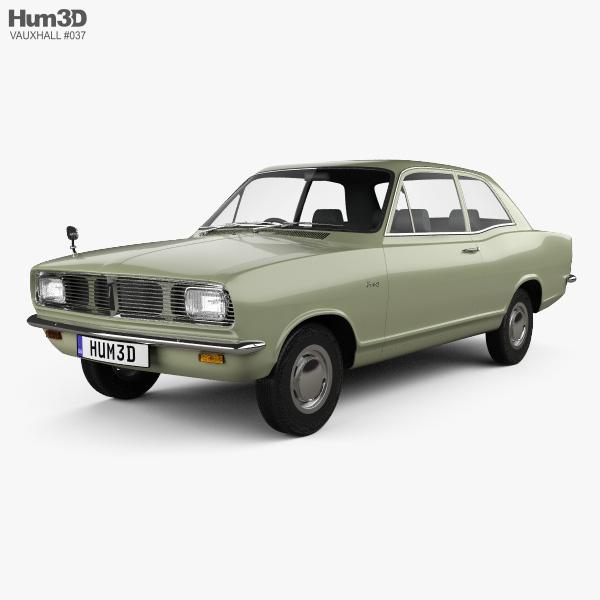 3D model of Vauxhall Viva 1966