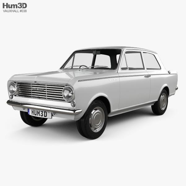 3D model of Vauxhall Viva 1963