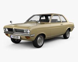 3D model of Vauxhall Viva 1970