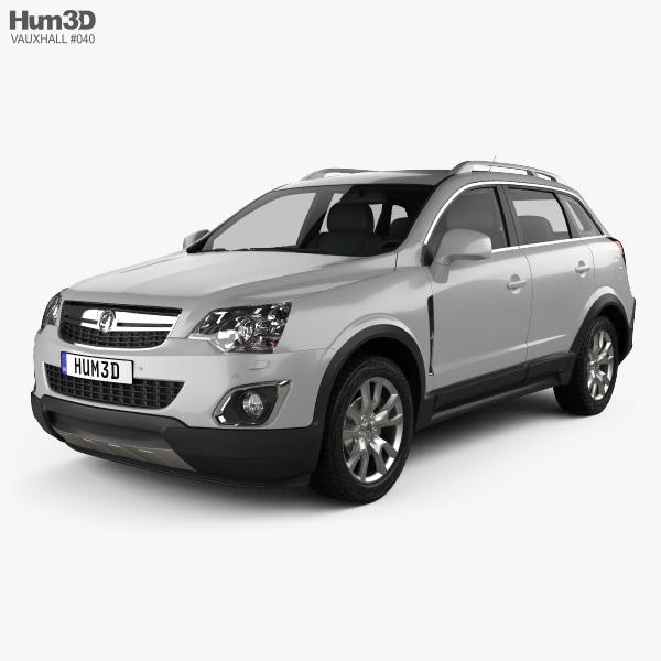 Vauxhall Antara 2011 3D model