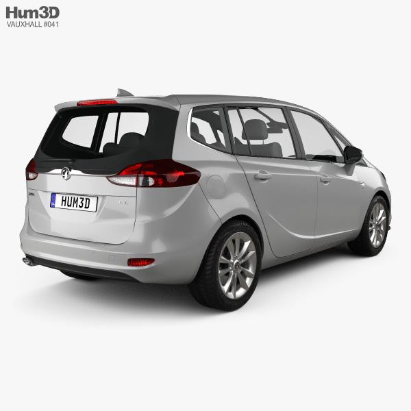 Vauxhall Zafira (C) Tourer 2016 3D model