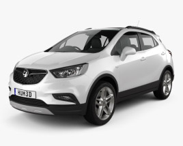 3D model of Vauxhall Mokka X 2017