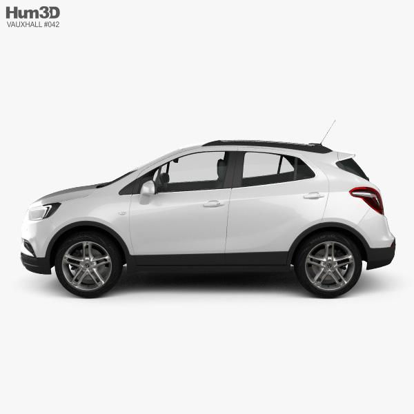 Vauxhall Mokka X 2017 3D model
