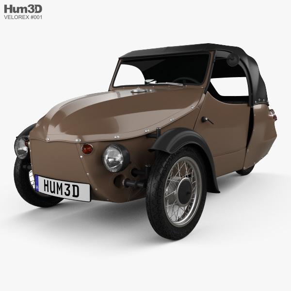 Velorex 16/250 1958 3D model