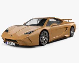 3D model of Vencer Sarthe 2015