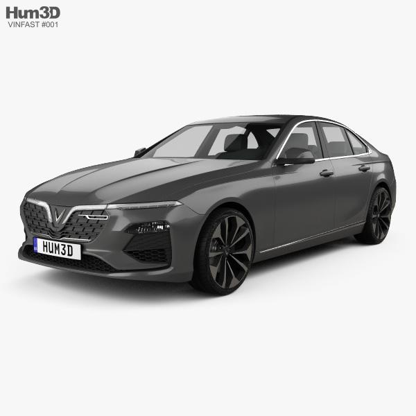 VinFast LUX A2.0 2018 3D model