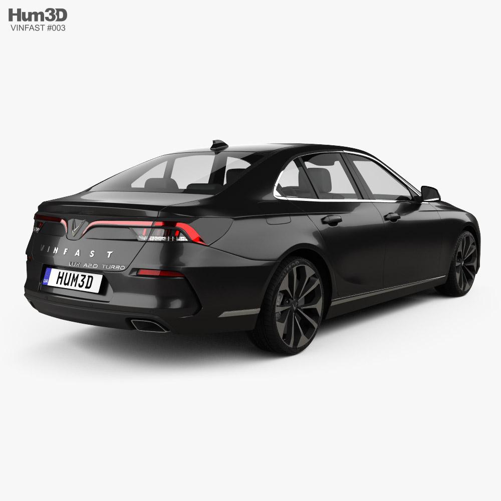 VinFast LUX A2-0 Turbo 2020 3d model