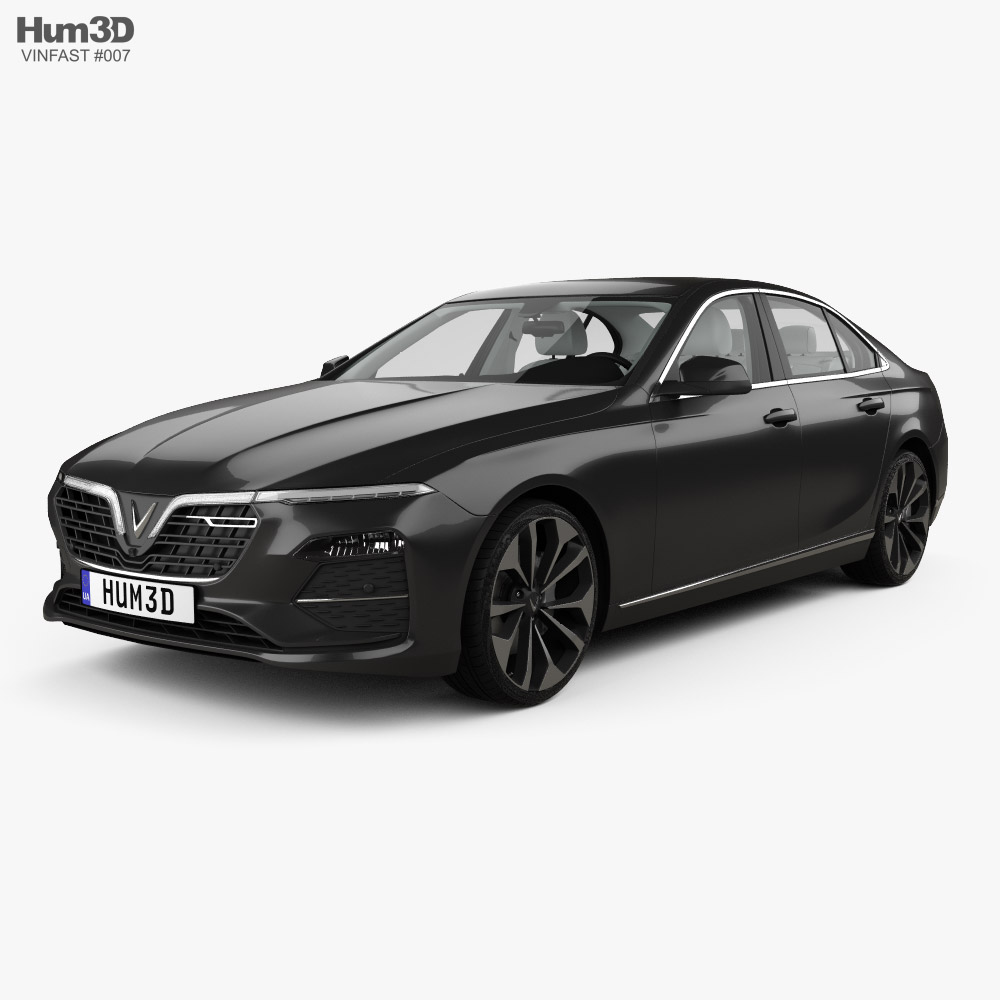 VinFast LUX A2-0 Turbo with HQ interior 2020 3D model