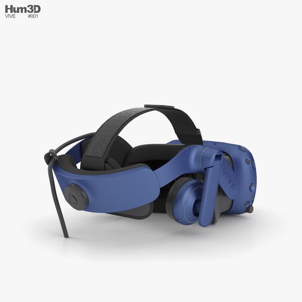 Vive Pro 3d model
