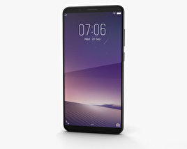 Vivo V7 Plus Matte Black 3D model