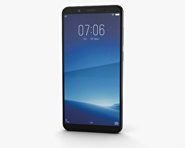 3D model of Vivo V7 Matte Black