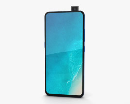 3D model of Vivo V15 Pro Topaz Blue