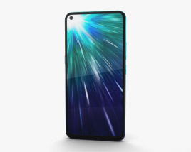 3D model of Vivo Z1 Pro Sonic Blue