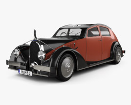 3D model of Avions Voisin C25 Aerodyne 1934