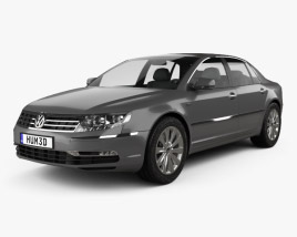 3D model of Volkswagen Phaeton 2011