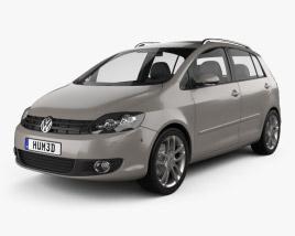 Volkswagen Golf Plus 2011 3D model