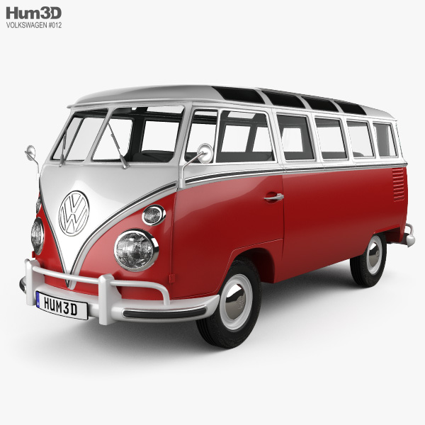 Volkswagen Transporter T1 1950 3D model