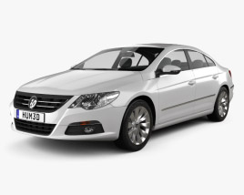3D model of Volkswagen Passat CC 2009