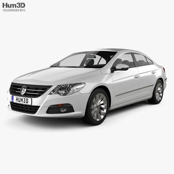 Volkswagen Passat CC 2009 3D model